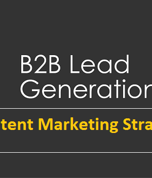 Content Marketing Strategy For B2B Lead Generation