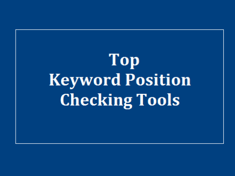 Keyword Position Checking Tools
